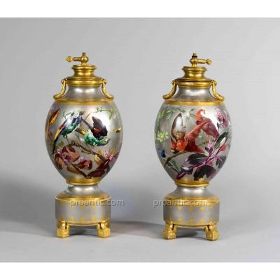 Narcisse Vivien Large Lamps Formerly Gas