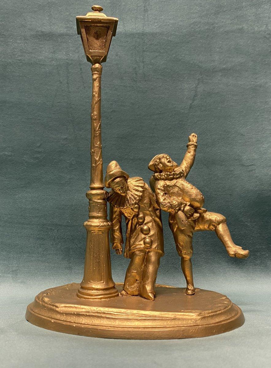 Bronze doré d'Eutrope Bouret
