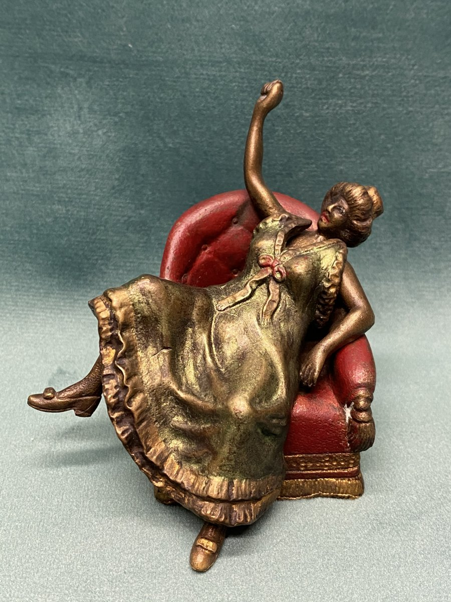 Bronze De Vienne érotique.