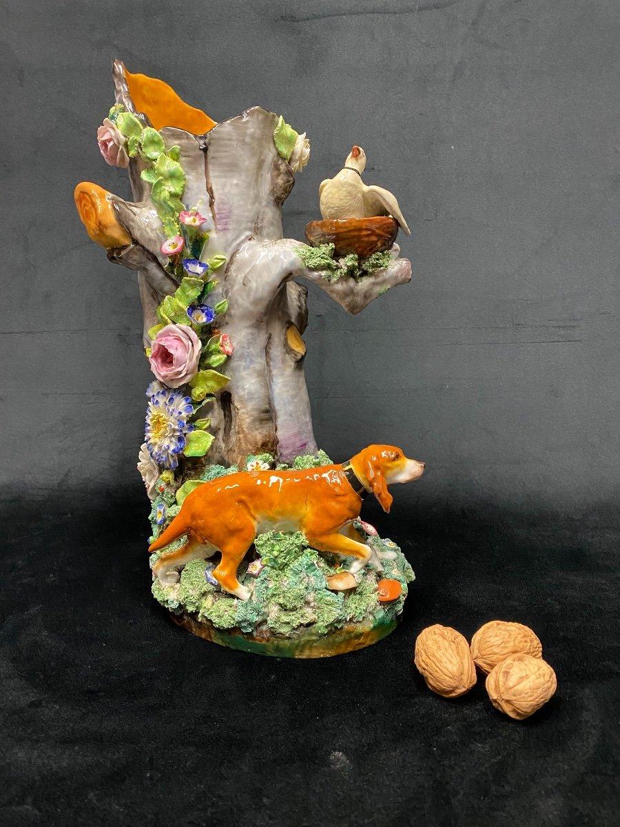 Vase en porcelaine de Jacob Petit