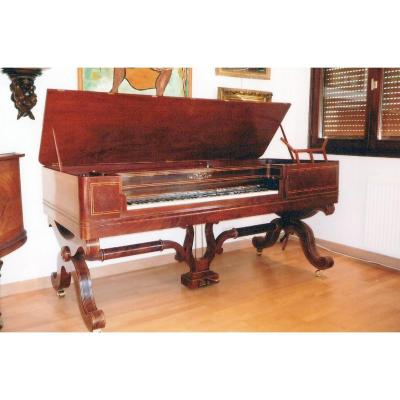 Piano  table Frost Strasbourg  1841