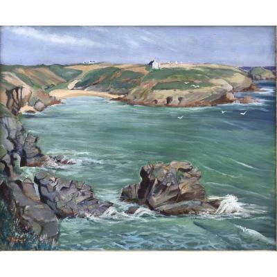 R Bonnet, Maritime Landscape, Brittany