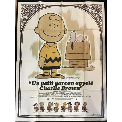 Lithograph Poster, Charlie Brown, 1969