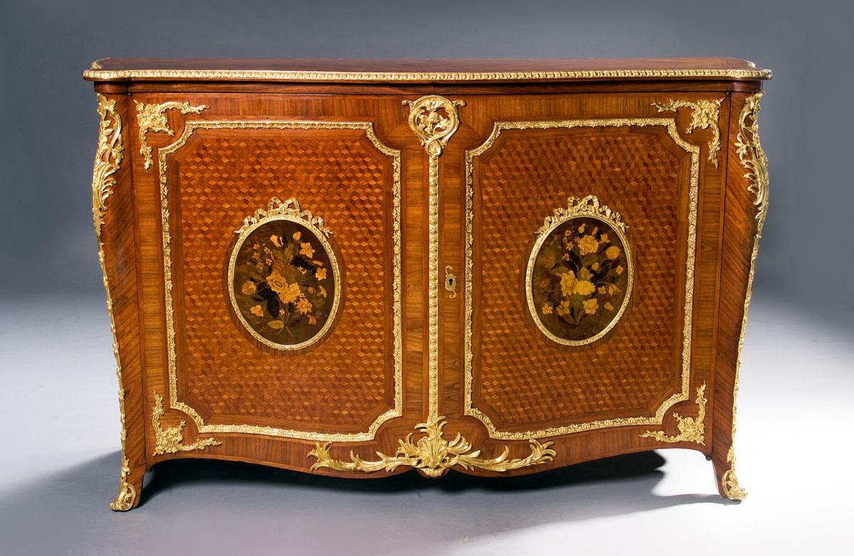 Monbro – Important Meuble d'Appui Napoleon III