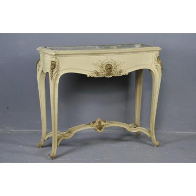 Important Jardiniere Louis XV Rocaille Style  From The 19th Century
