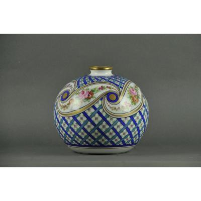 Vase Boule Art Deco Signé Et Daté 1942