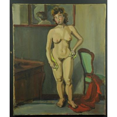 Andrée Bordeaux-le Pecq – La Femme Au Miroir