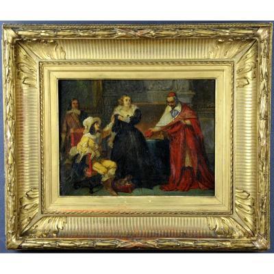Louis Joseph Toussaint Rossignon (1780-1871) - Oil On Canevas - The Day Of The Dupes