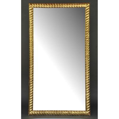 Miroir Napoléon III En Bois Doré