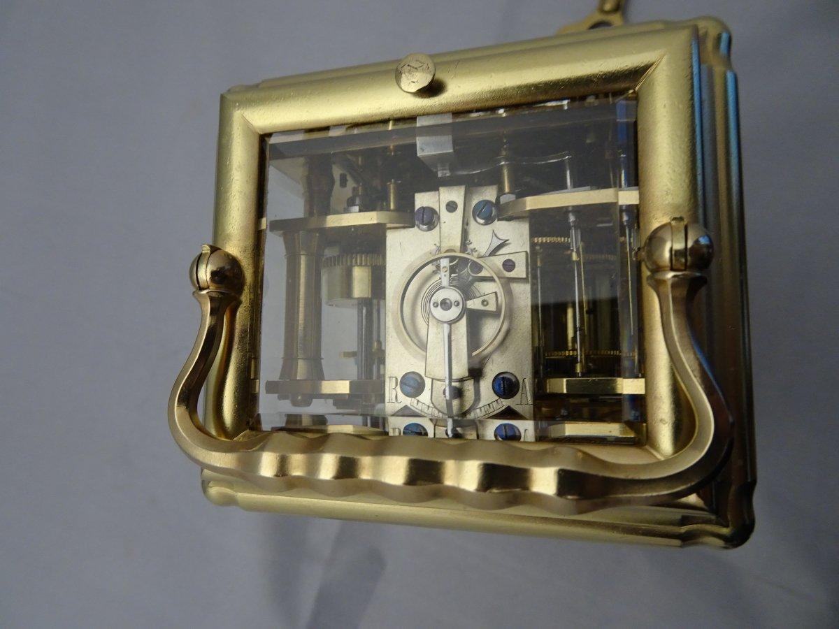 Pendule De Voyage Grande Sonnerie Triple Date Et Seconde