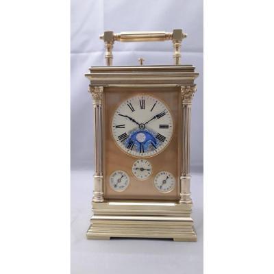 Grand Strike Travel Clock And Lunar Calendar