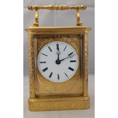 Carriage  Clock, Travel Clock  With Striking
