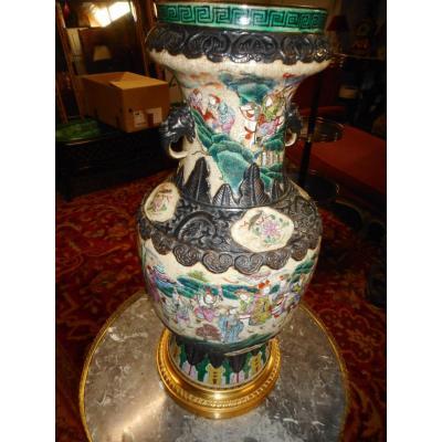 China Vase Bronze Mount