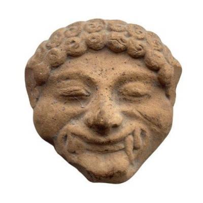 Greek Art, Gorgon Head Applique.