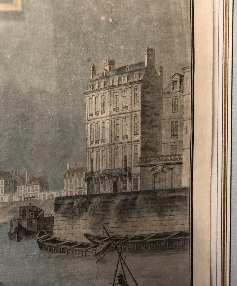 Paris quartier Saint Paul par Charles Desco XVIIIème Siècle-photo-3