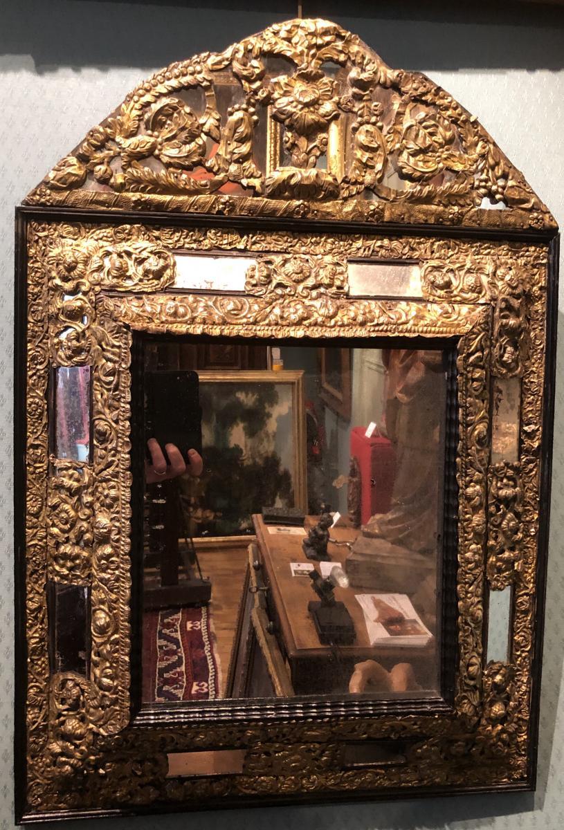 Miroir du XVIIe - Ancienne collection de Georges Bemberg