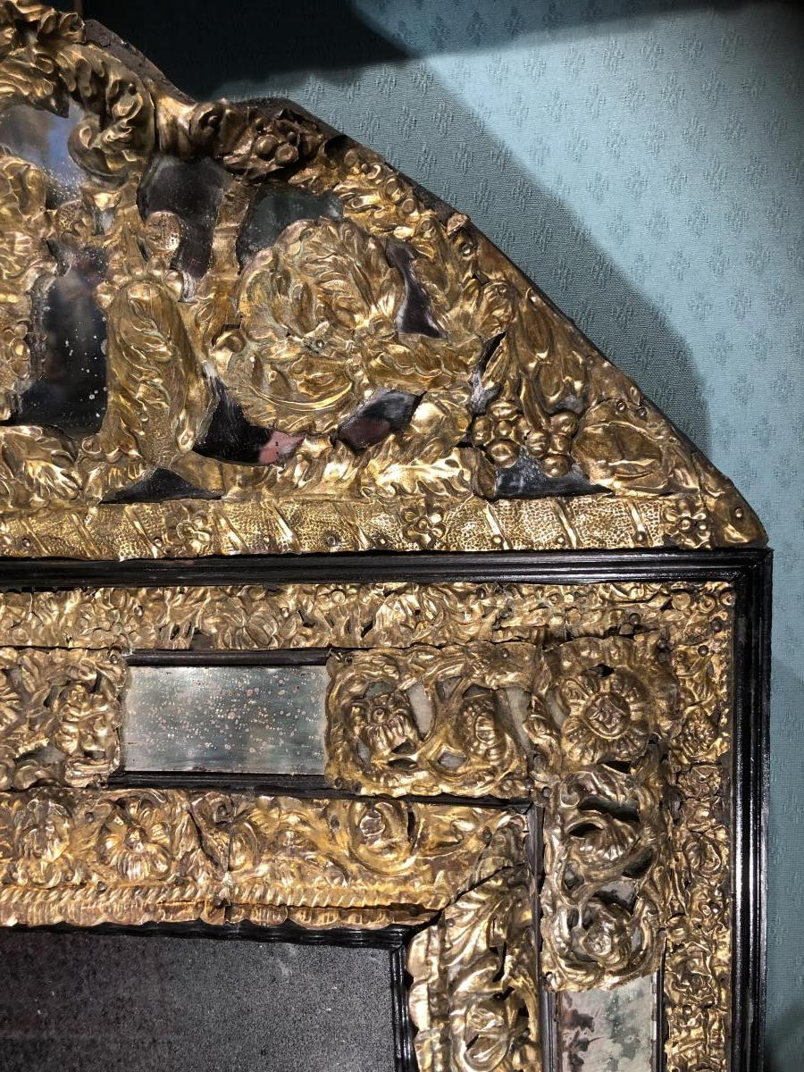 17th Century Mirror - Former Private Collection Georges Bemberg-photo-1