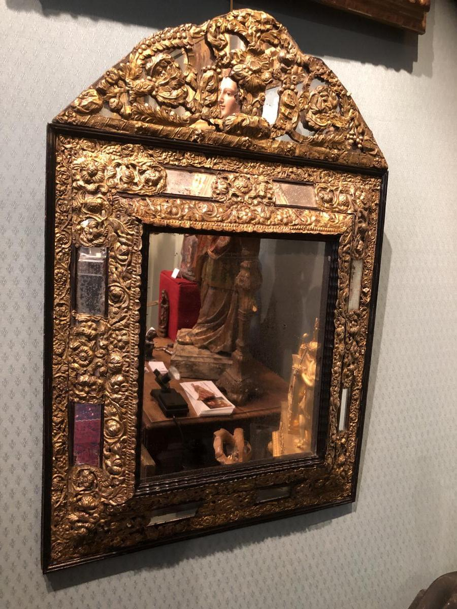 17th Century Mirror - Former Private Collection Georges Bemberg-photo-2