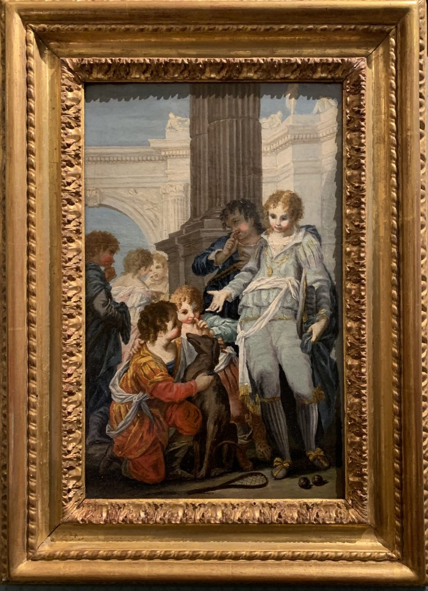 Giocco Della Rachetta , Venice Near 1750