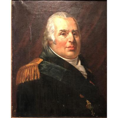 Portrait Louis XVIII - Workshop Of Baron Gerard