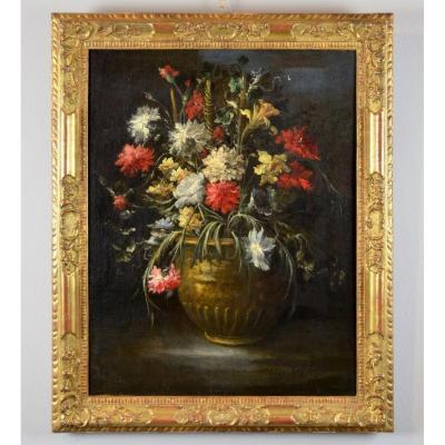 Nature morte aux Fleurs - Signée Margherita Caffi (1648 - 1710)