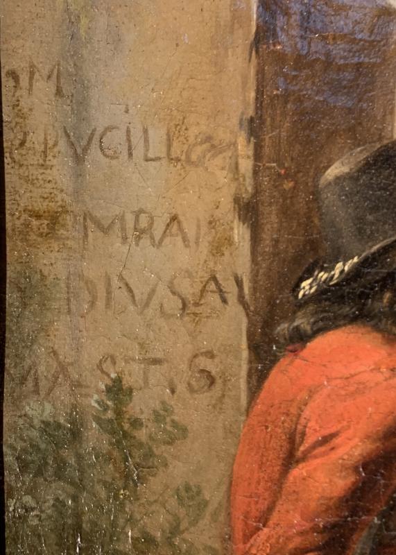 Les tricheurs dans la partie de cartes - Alexandre Montallier 17ème siècle-photo-3
