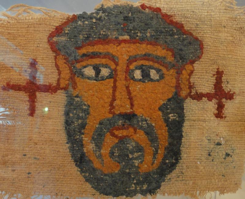 Portrait d'Homme, Egypte, Epoque Copte VII ème siècle.-photo-2