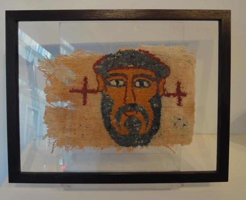 Portrait d'Homme, Egypte, Epoque Copte VII ème siècle.-photo-3