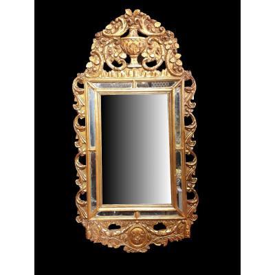 Miroir à Pareclose Louis XVI