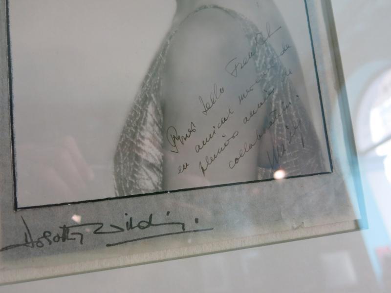 Photographie Dédicacée Et Signée Par Marie Bonaparte Princesse de Grèce-photo-2