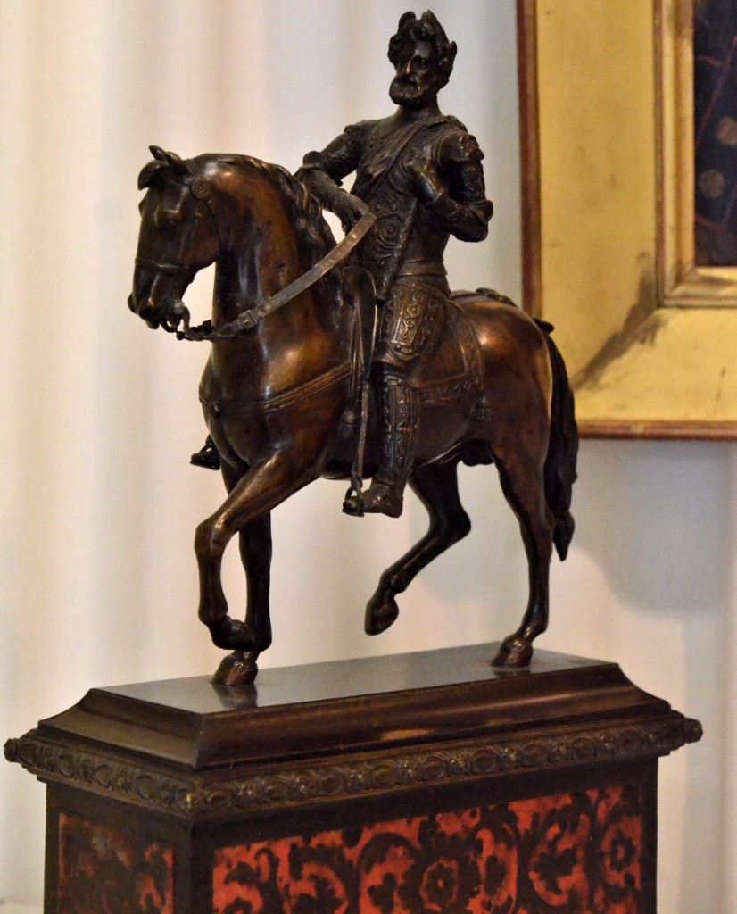 Equestrian Statue Of Henry Iv