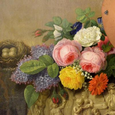 """flower Arrangement"" Speeckaert Michel Joseph (1748-1838)"