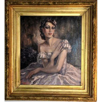 """""""Elégante"""" par Harijs EBERSTEINS (1906 – 1964)"""