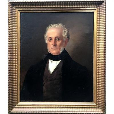"""portrait Of An American Notable In Havana"" Juan Jorge Peoli."