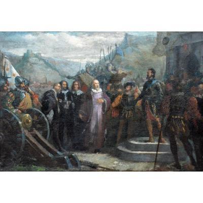 Henry IV au siège de Montmélian en Savoie en 1600.