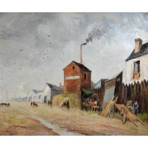 « Les puces de Saint-Ouen en 1946» Georges ROSE (1895-1951)