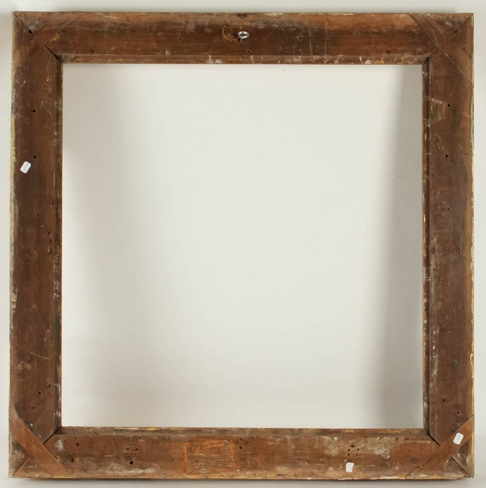 Fabulous Louis XIV Period Frame, Mirror With Flower Corners, France 18th Century-photo-4