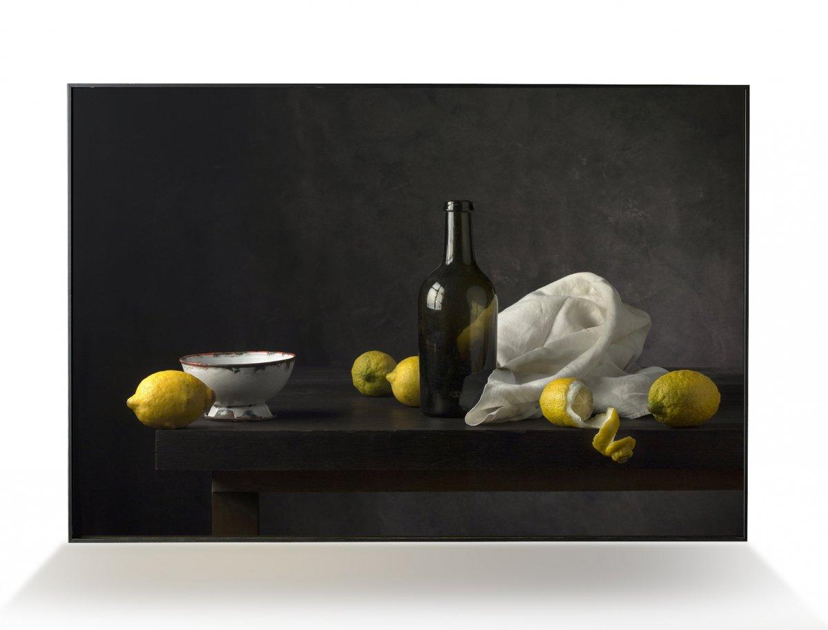 Photographie Par C. Descordes , Nature Morte Aux Citrons 1, France 2020