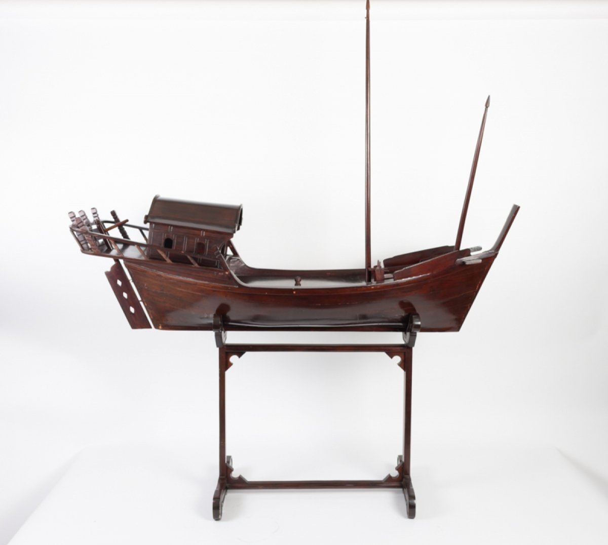 Chinese Junk In Exotic Wood