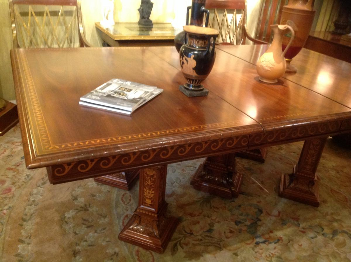 greek style furniture. Large Table, Neo-greek Style. Greek Style Furniture