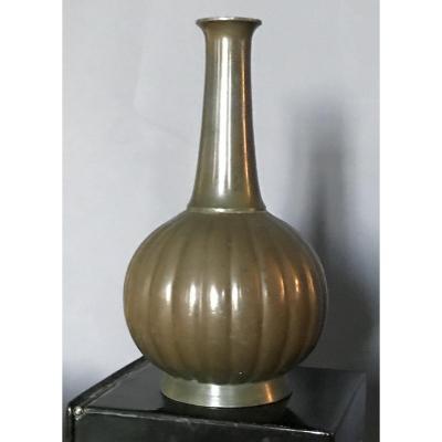 Petit Vase à Patine à L'antique De Just Andersen