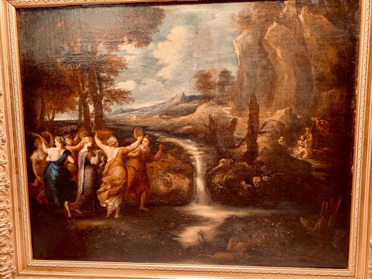 Tableau Scène Champêtre