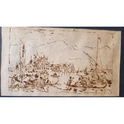 Drawing Late 18th Century, Venice