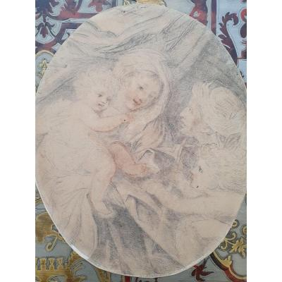 Lot Of 3 18th Century Drawings