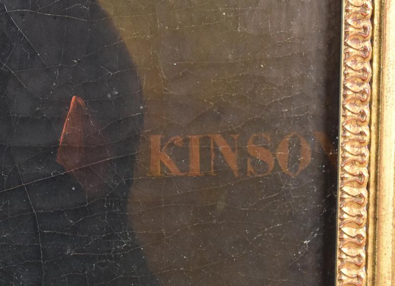 François Joseph Kinson (1771-1839), Portrait Of Young Man, Oil On Original Canvas, Painting-photo-4