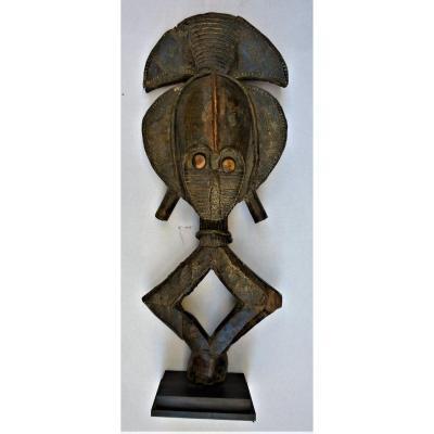 Exceptionnelle Figure De  Reliquaire Kota  Obamba - Gabon