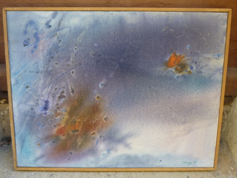 Abstraction Par Jean Delage
