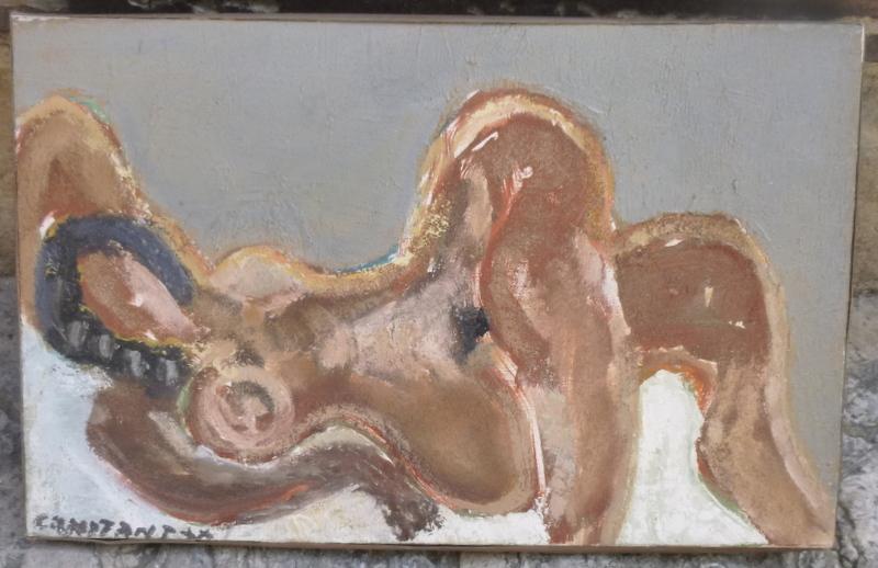 Nu Couché Par Christian Constant Peintre De Toulouse