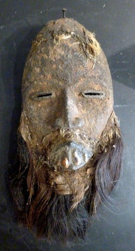 Masque De Danse Dan  à Patine Sacrificielle