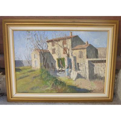 Maison De Campagne En Provence Par Figlinesi